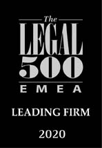LEGAL 500 EMEA 2020